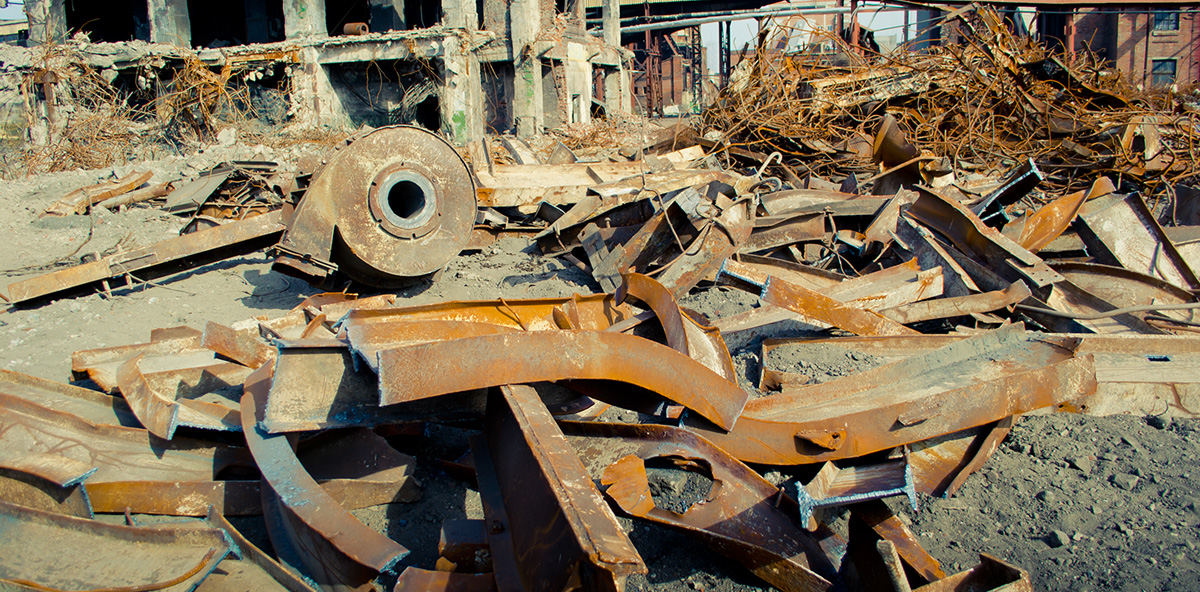 Iron and Scrap Metal Only